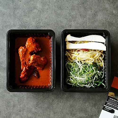[천안 기린더갈비찜] 매운 돼지갈비찜 2인분