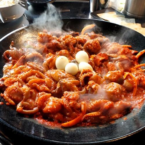 <복지관 단독>[부산 얼짱쭈꾸미] 감칠맛 쭈꾸미볶음